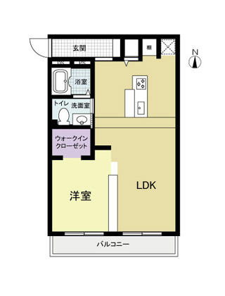 間取り図:リノベーション後